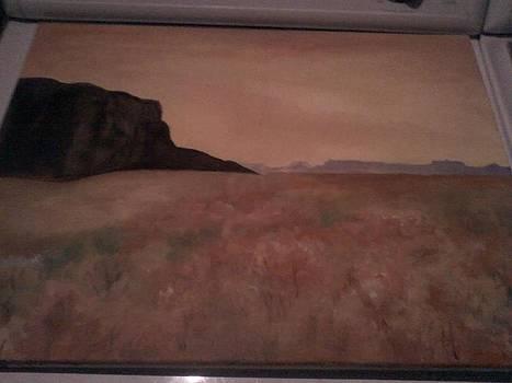 lonely Desert  by Rachel Bodak