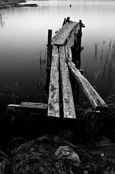 Lonely Pier by Matthias Siewert