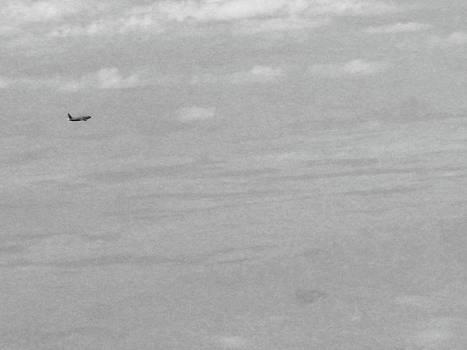 Lonely Plane by Josephine Z Nyounai