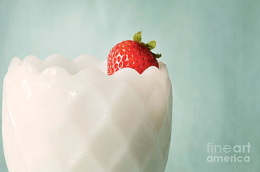 Lonely Strawberry by Anna Crowder