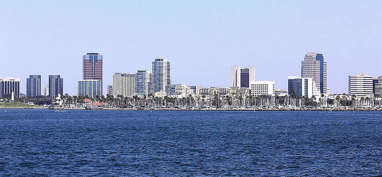 Long Beach CA by Judith Szantyr