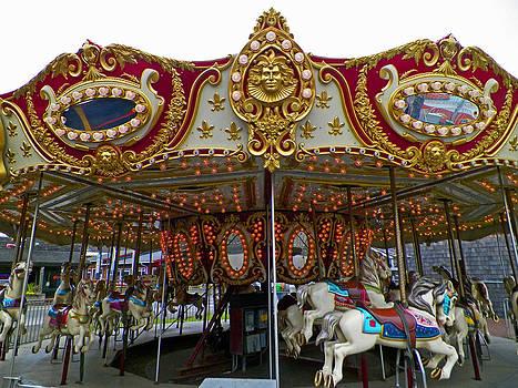 Long Beach Carousel 2  by Seth Shotwell