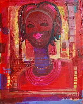 Long neck girl by Mohamed Fadul