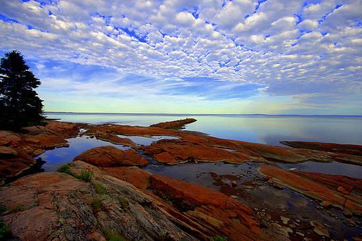 Longue Rive  Quebec by Jale Fancey