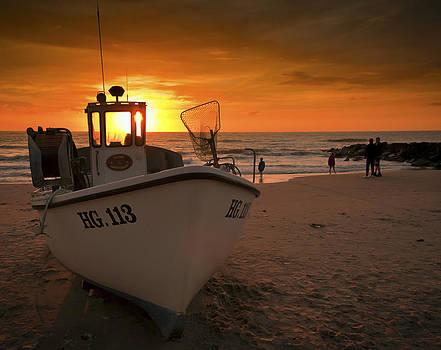 Lonstrup sunset by Paul Davis