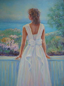 Looking Out by Holly LaDue Ulrich