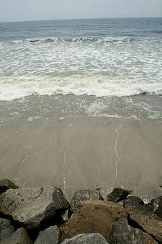 Lookout Pier at Brigantine Beach NJ by Sarah Grady