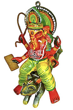 Kantilal Patel - Lord Ganesh on Mouse