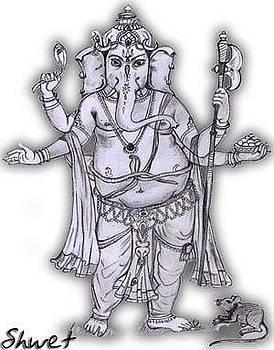 Lord Ganesha by Shwet Suman