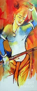 Lord Krishna by Manish Verma