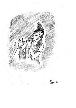 Lord Krishna by Priya Arun