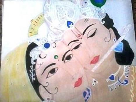 Lord krishna by Thejasvi Reddy