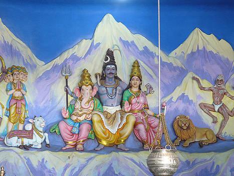 Lord Shiva's Family by Sandeep Gangadharan
