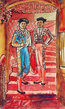 Los Toreros by Aileen Markowski