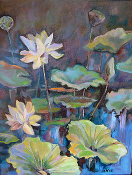 Lotus Flower by Marty Husted