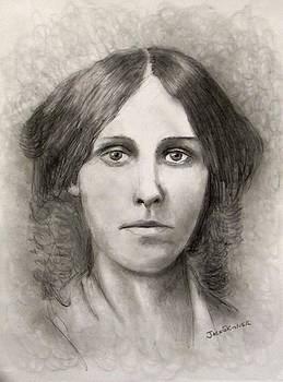 Louisa May Alcott by Jack Skinner