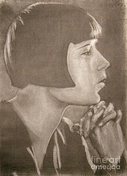 Louise Brooks by Scott Shisler