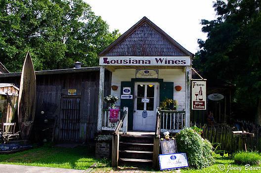 Louisiana Wine Shop by Jenny Bauer