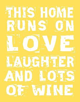 Jaime Friedman - Love and Lots of Wine Poster