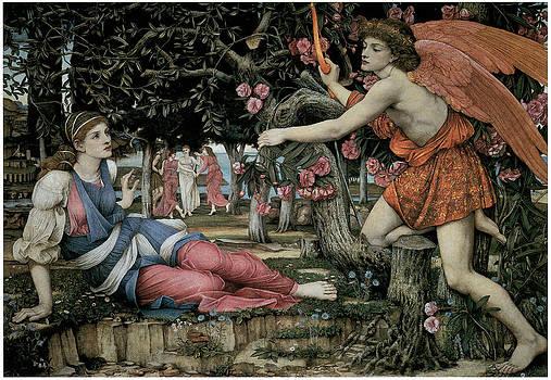 John Roddam Spencer Stanhope - Love and the Maiden