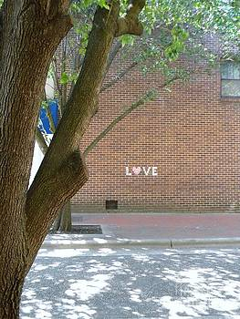 Love Graffiti by Rainey Daze