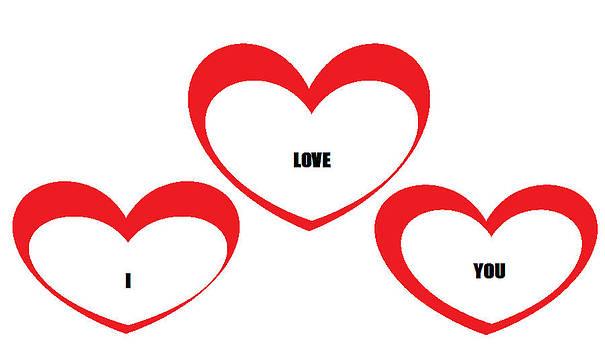 Love Hearts by Cherryl Fernandez