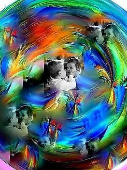 Love in blue by Lilioara Macovei