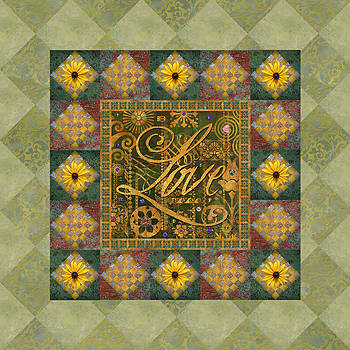 Love Quilt by Susan Ragsdale