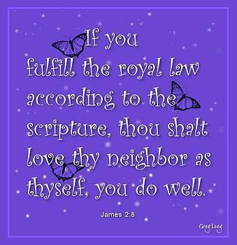 Love thy neighbor by Greg Long