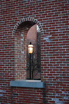 Mary McAvoy - Lowell MA Brick Archway