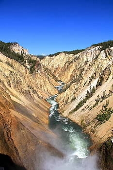 Lower Falls of Yellowstone 2 by Lindsey Cockrum