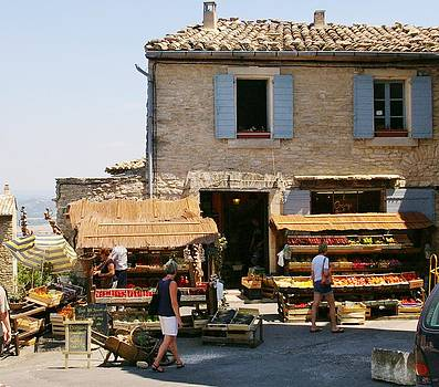 Luberon Market by Christine Burdine