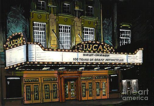 Lucas Theatre by Kris Sperring