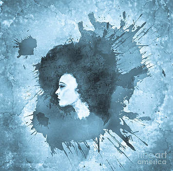 Lucidity in blue by Christina Mcmillen