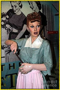 Sophie Vigneault - Lucille Ball Cartoon