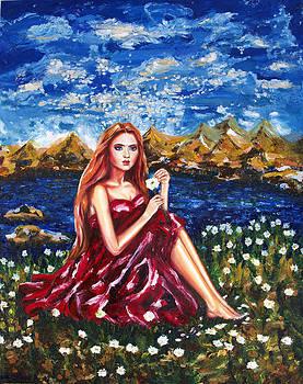 Lucky Fortune Flowers by Yelena Rubin