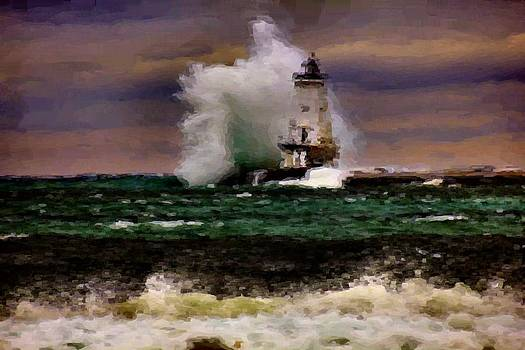 Matthew Winn - Ludington in Oil