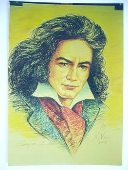 Ludwig van Beethoven by Khanh Vu