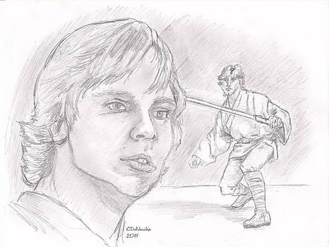Chris  DelVecchio - Luke Skywalker - Farmboy