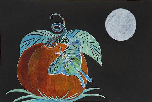 Lunar Moth by Rene LeGrue