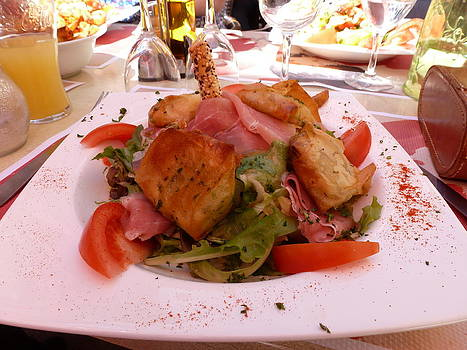 Lunch in France by Christine Burdine