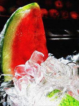 Lush Watermelon on Ice by Eve Paludan