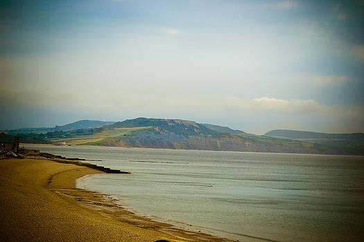 Lyme Regis Beach by Ruth MacLeod