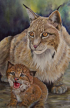 Dee Carpenter - Lynx Mom and Baby