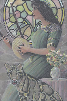 Lyre and Leopard by Michael Cohen
