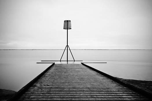 Lytham jetty by Sandra Pledger