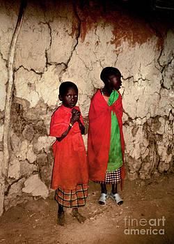 Maasai Children by Tina Broccoli