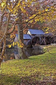 Mabry Mill in the Fall by Mark East