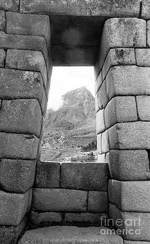 Darcy Michaelchuk - Machu Picchu Window