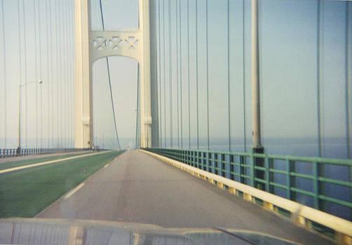 Mackinac Bridge by Victoria Sheldon